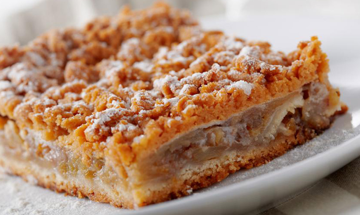 Apple Coffee Cake with Crumble Topping - CAbi Fall 2014 Collection