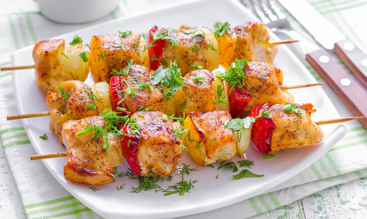 Yummy Honey Chicken Kabobs - CAbi Fall 2014 Collection