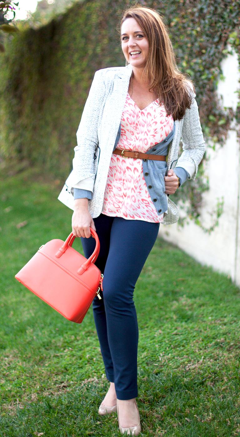 Flirty Cami Tiffany Pant French Navy Billi Cardigan Code Blazer
