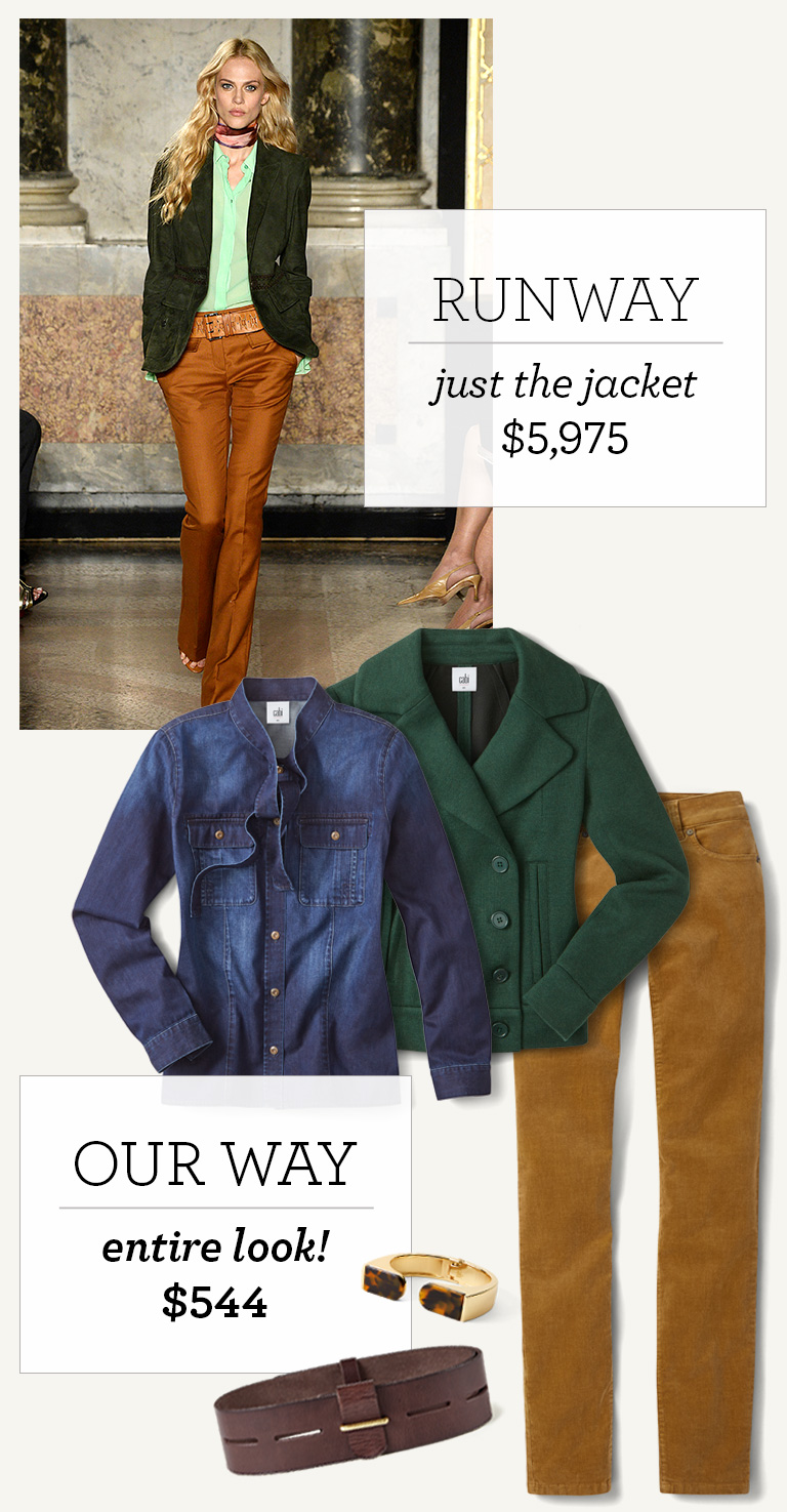 Fall 2016 Runway Looks For Less Cabi Clothing