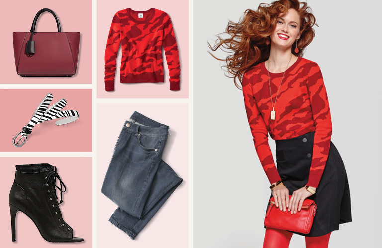 2017 fashion trend color - Red Trend How To Wear Fall S Quot It Quot Color Cabi Women S