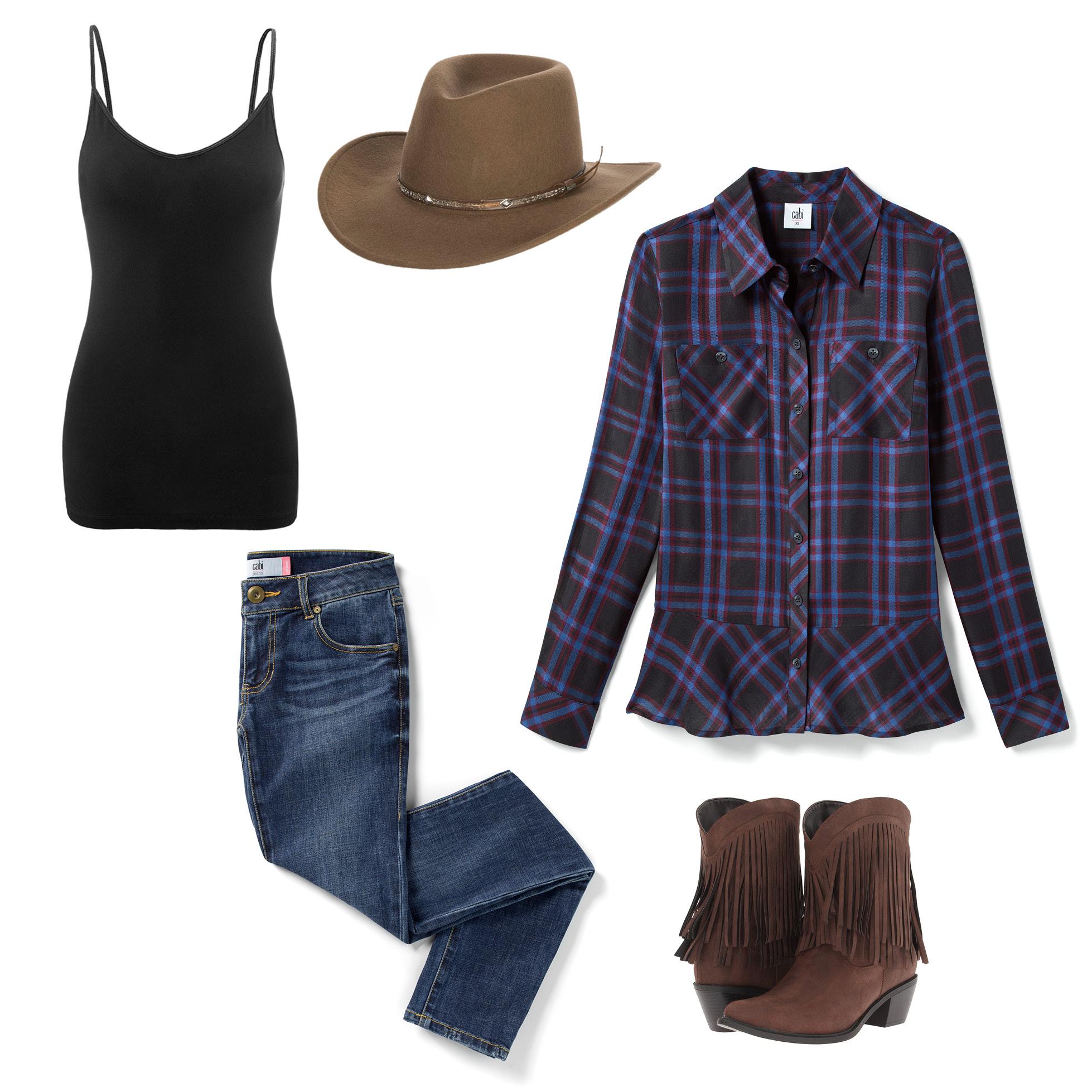 Trick or treat diy halloween costume ideas cabi clothing cowgirl solutioingenieria Choice Image