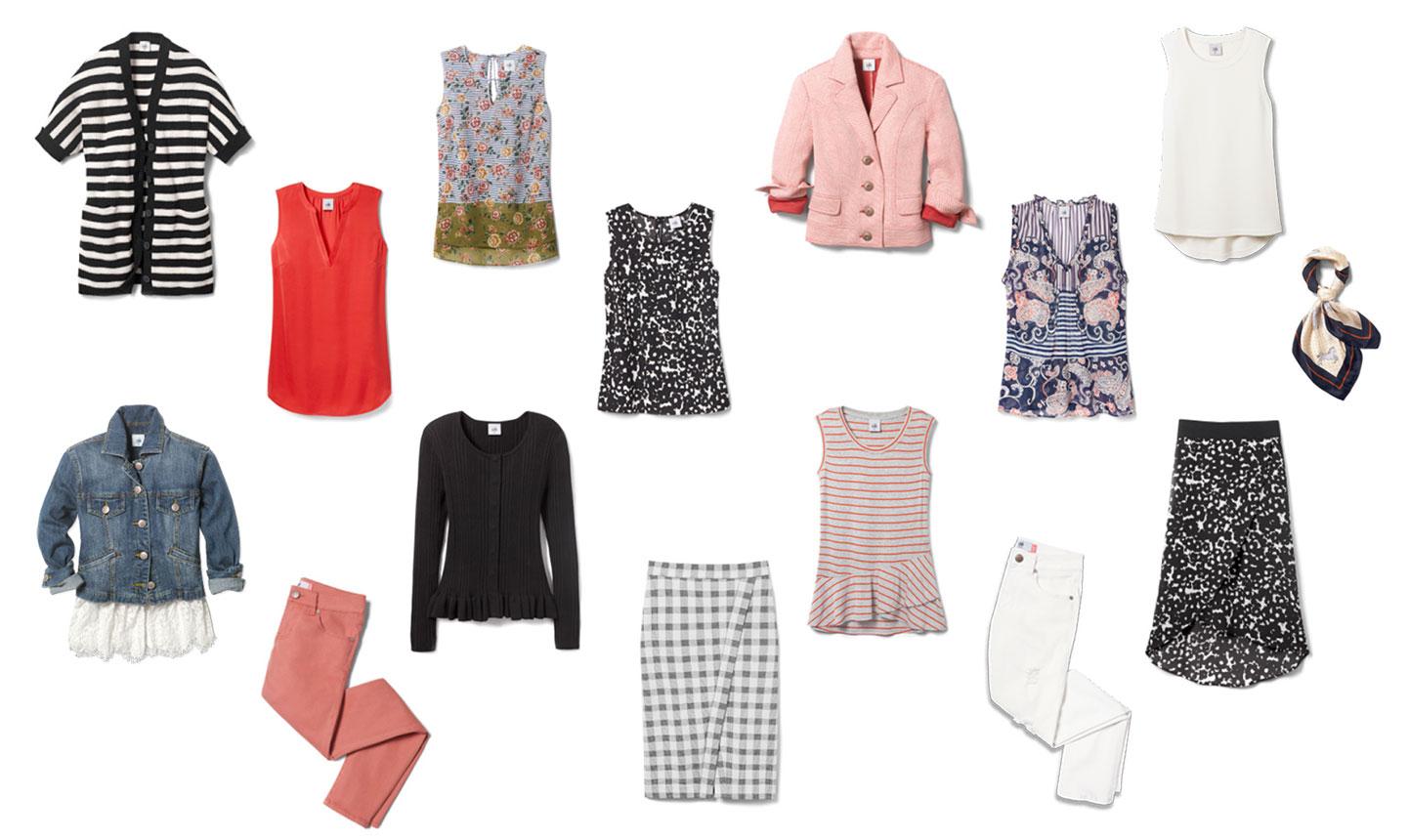 ade9314ffb7 Spring Wardrobe Capsule  15 Items