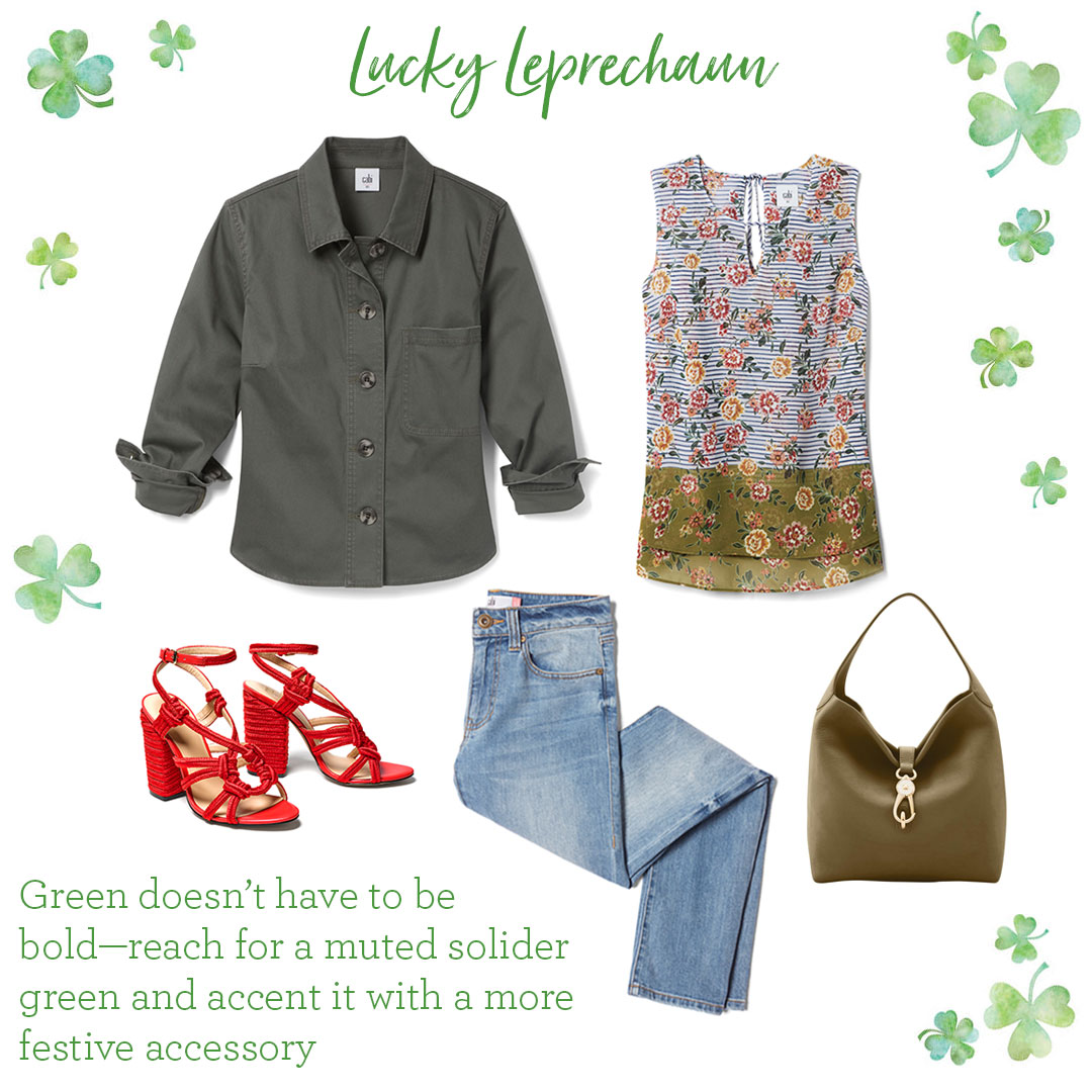 St Patricks Day Outfit Ideas Cabi Spring 2018 Collection