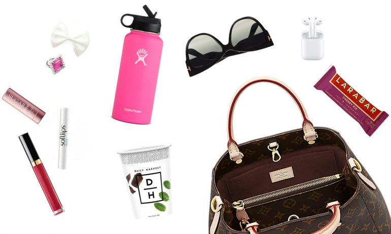 what's in our bags? items we can't do without