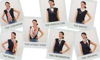 knot an issue! 7 adorable scarf-tying ideas to try