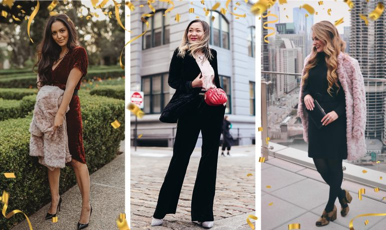 new year's eve style: what some of our favorite bloggers are wearing