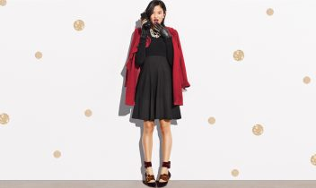 1 little black dress—10 holiday party outfits