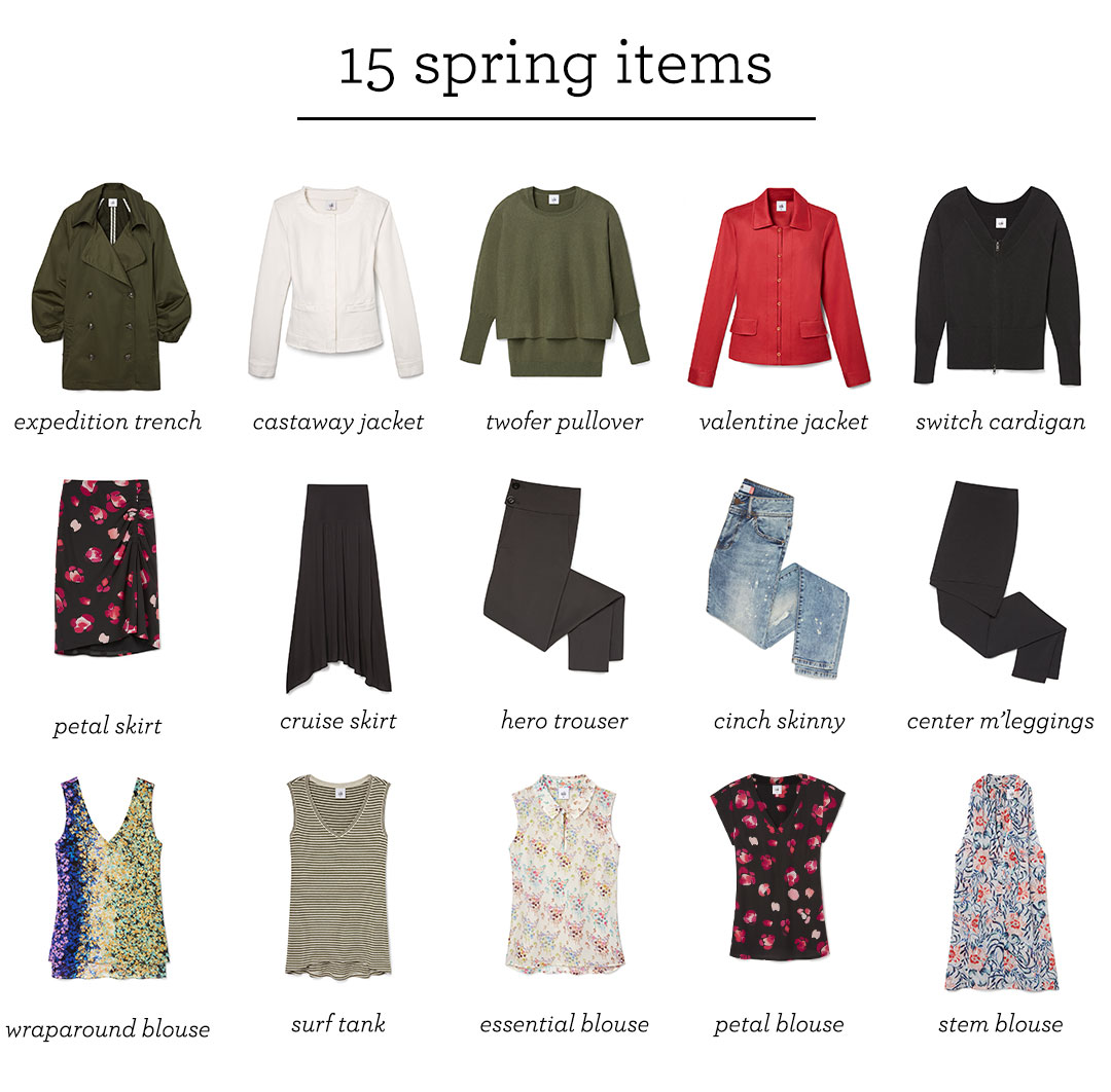 6 for 6: the ultimate spring outfit capsule - Cabi Spring 6