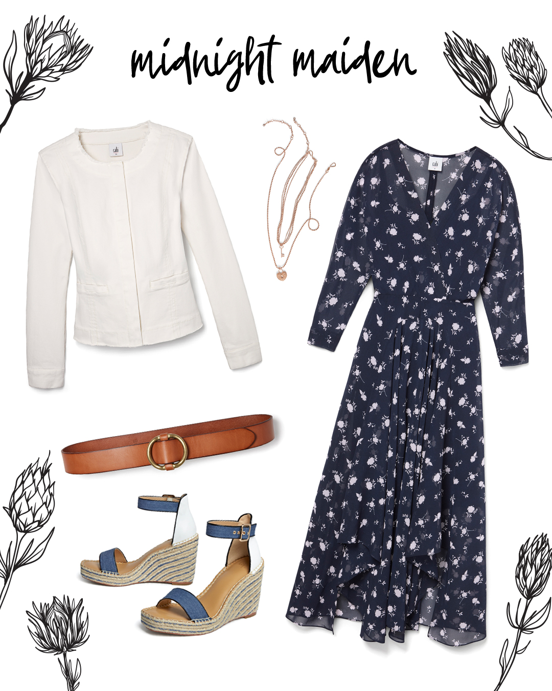 Spring Outfits With A Floral Flourish Cabi Spring 2020