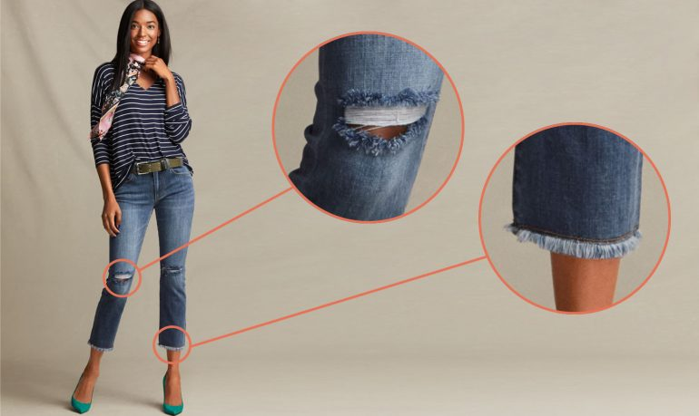 distressed to impress: how to distress your jeans