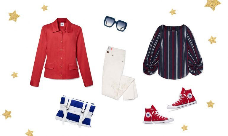 fourth of july outfits that sparkle