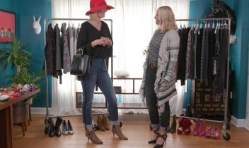 bff makeover: becky and her bff style cute fall outfits