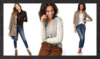texture mixing to boost an outfit