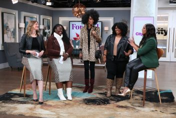 spotted on cityline: josephine coat and st. regis blouse