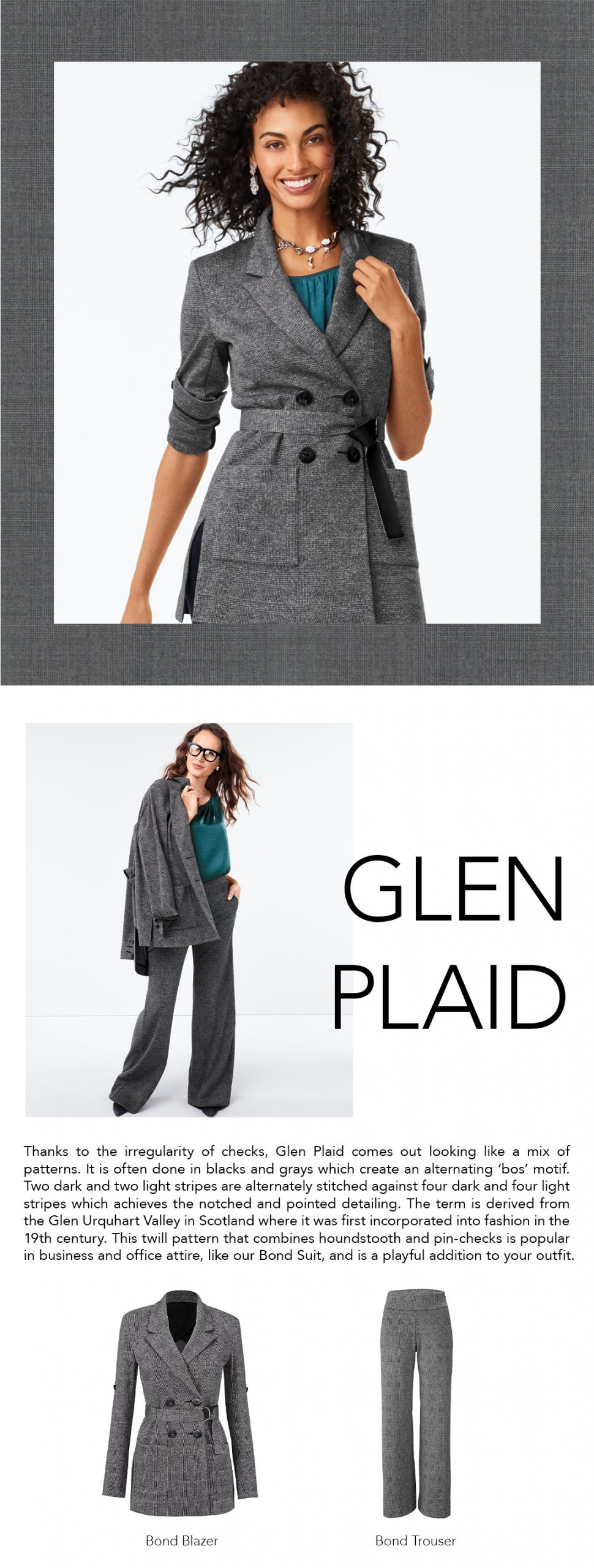 cabi Clothing   Types of Plaid