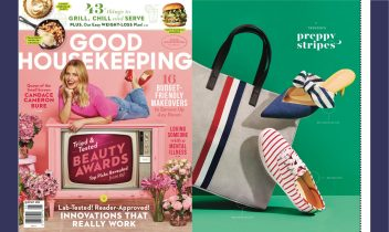 spotted in good housekeeping: bow kitten heels