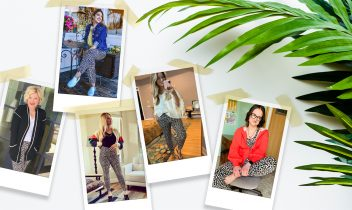 spotted joggers: the leopard jogger stylists are raving about