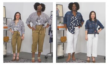 styling tips for tall or petite women