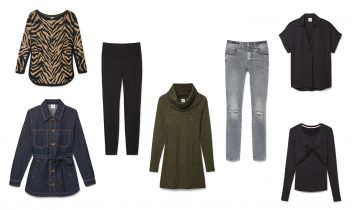 the perfect cozy wardrobe capsule