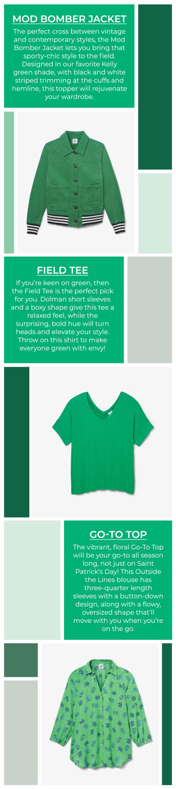 cabi Clothing | Spring 2021 | St Patricks Day Clothing