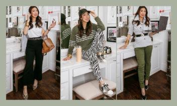 business unusual: work from home wardrobe capsule